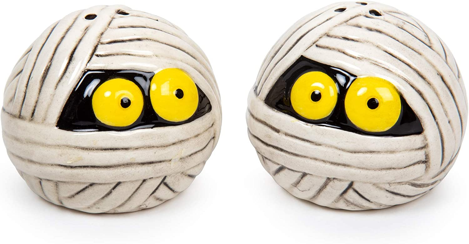 Mummy Salt and Pepper Shakers