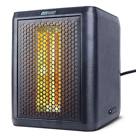 Amazon.com: Calentador de espacio eléctrico y ventilador de ...