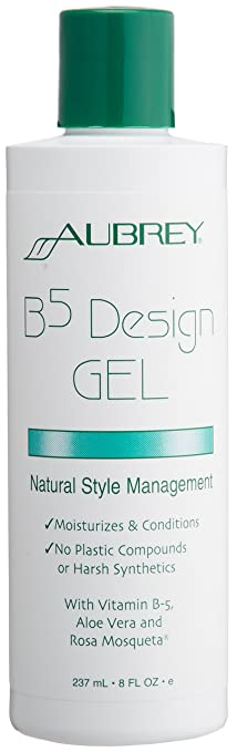 Amazoncom Aubrey Organics Hair Design Gel B5 All Natural 8 Oz