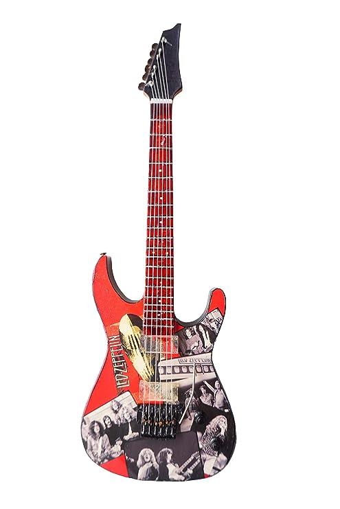 LED ZEPPELIN – Un tributo de madera miniatura Guitarra Replica