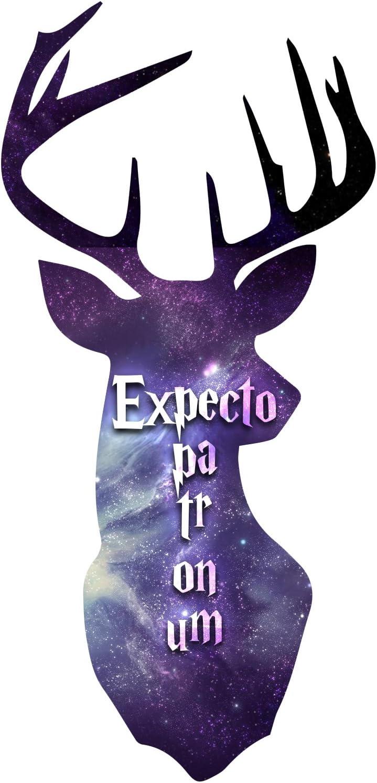 Decal Serpent Expecto Patronum Spell Inspired Deer Head Magic Sticker 5