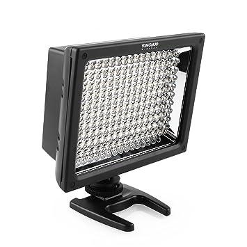 Yongnuo YN-160S - Foco Luz de Vídeo Foco con 160 LED para cámaras ...