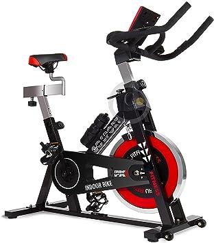 Bicicleta estática aeróbica doméstica para spinning y fitness ...