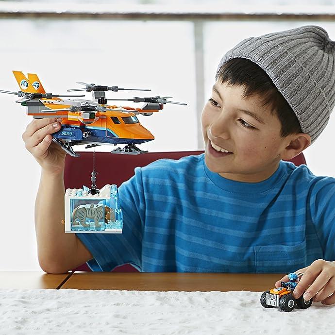 LEGO 乐高 City 城市系列 极地空中运输机 60193 积木玩具 5.7折$22.99史低 海淘转运到手约¥196