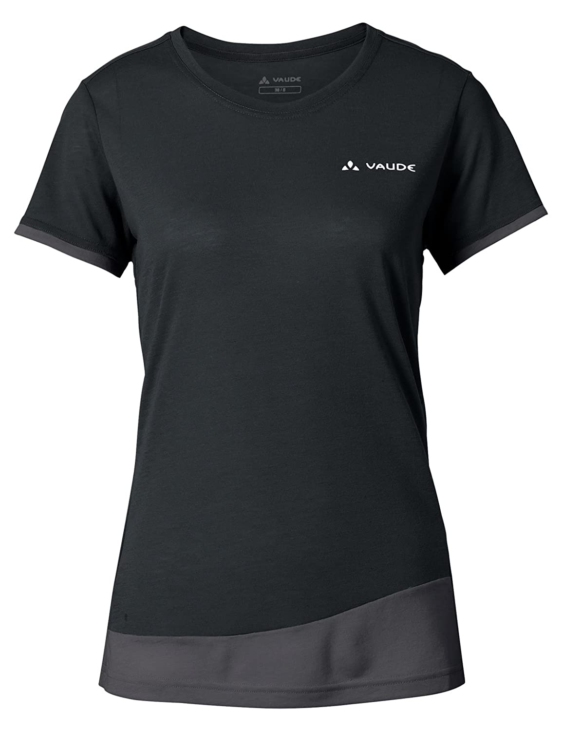 Cooling and Odor Resistant Quick Drying Drirelease T-Shirt with Merino Wool Fast Drying VAUDE Womens Sveit T-Shirt