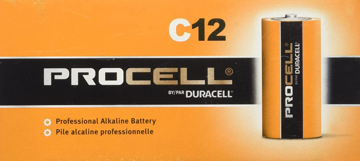 DURACELL C12 PROCELL Professional Alkaline Battery 12 Count