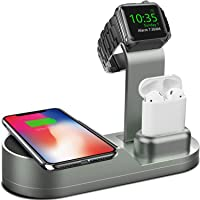 Deszon Apple Watch Wireless Charger Stand (MidnightGreen)