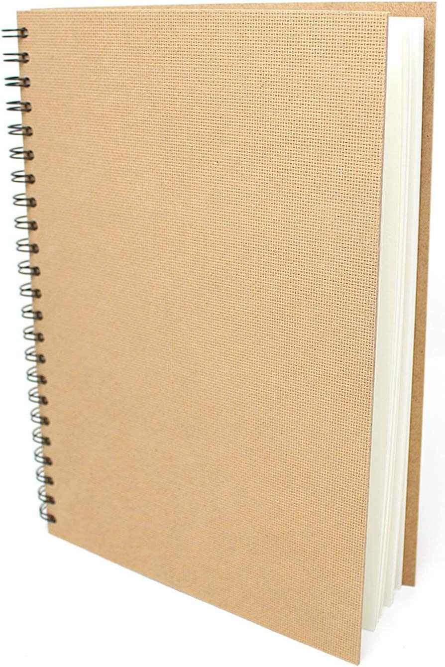 Artway Enviro of 70 Pages Portrait 35 Leaves Spiral Bound A4 Sketch book