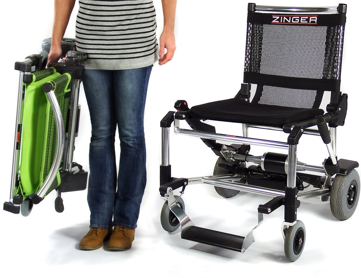 Zinger Chair, Ultra-Portable Motorized Mobility Chair, Lightweight, Folding  Electric Mobility Chair,