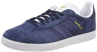 eb0da8887e4 adidas Women s Gazelle W Gymnastics Shoes Blue Collegiate Navy FTWR White