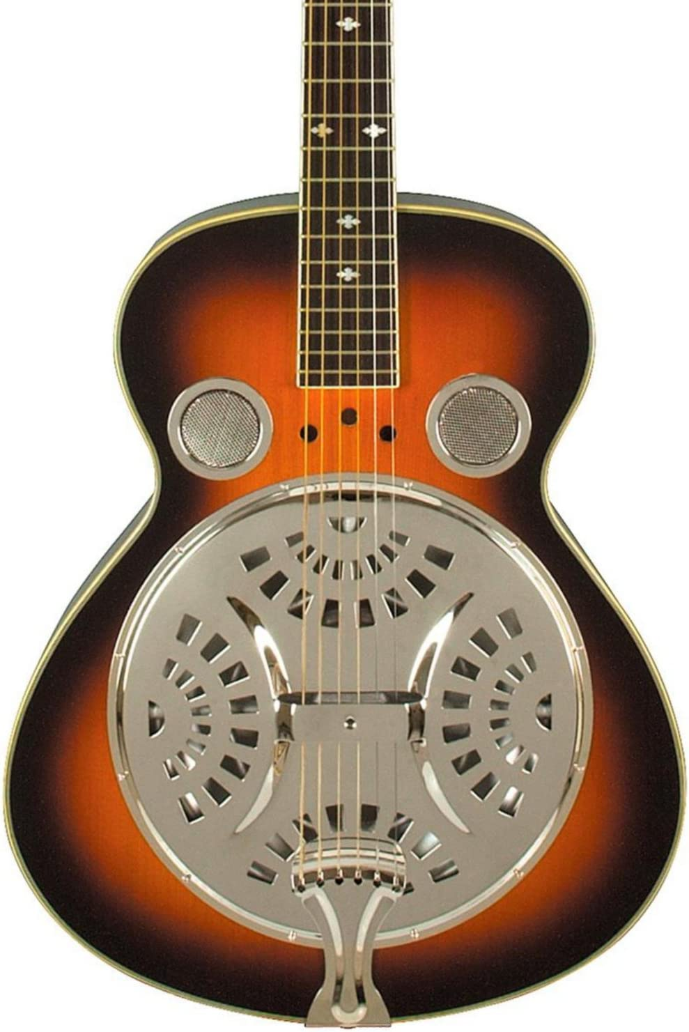 Rogue Classic Spider Resonator Sunburst Roundneck