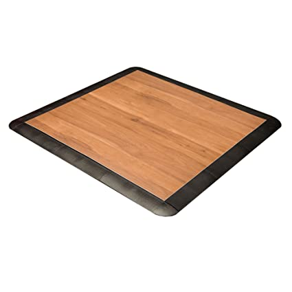 Amazoncom Incstores X Practice Dance Floor Dark Maple - Portable dance floors for home use
