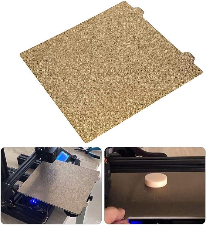 Denash Impresora 3D Cama calefactada Placa de Acero Polvo Pei ...