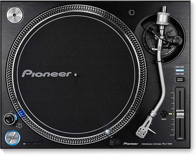Pioneer DJ Direct Drive DJ Turntable, Black