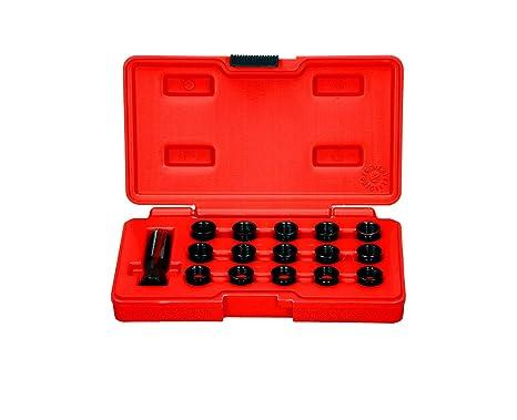 Bujía para reparación de roscas Juego Set Broca de roscas M14 x 1 ...