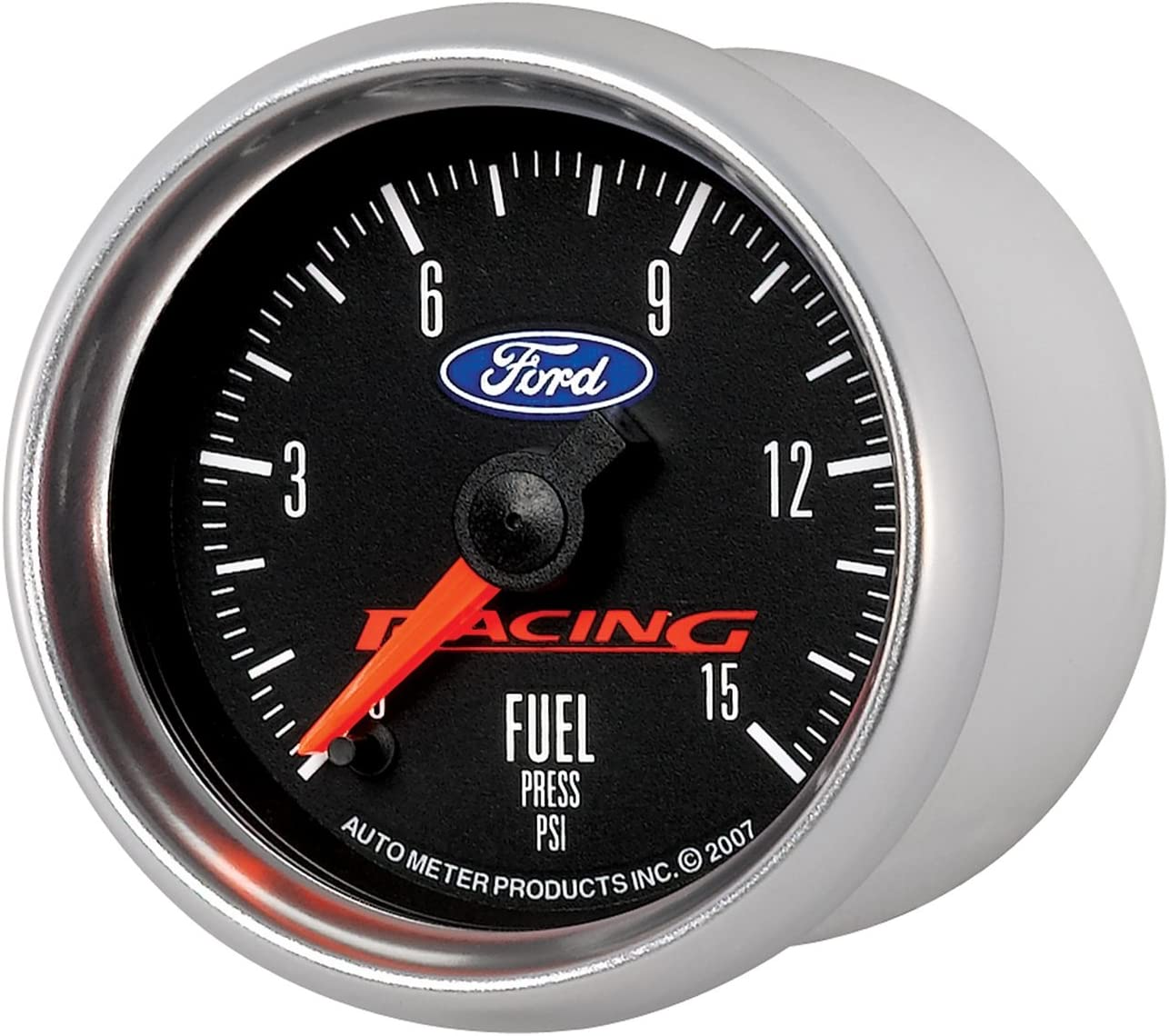 Auto Meter 880107 2-1//16 0-15 PSI Fuel Pressure Gauge for Ford Racing