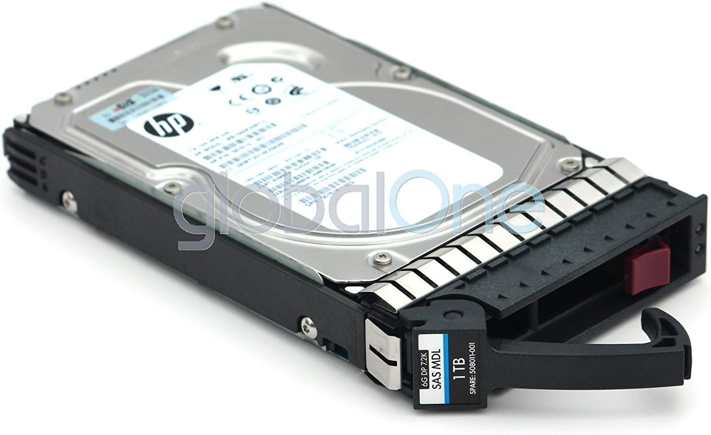 HP MB1000FAMYU 1TB 7.2K 3.5 SAS DP 6G MDL G8 SC HDD With Tray