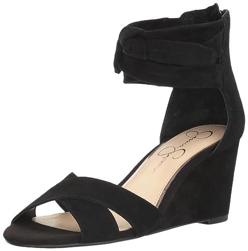 263b1ceaf175 Jessica Simpson Women s Cyrena Wedge Sandal  Buy Online at Low ...