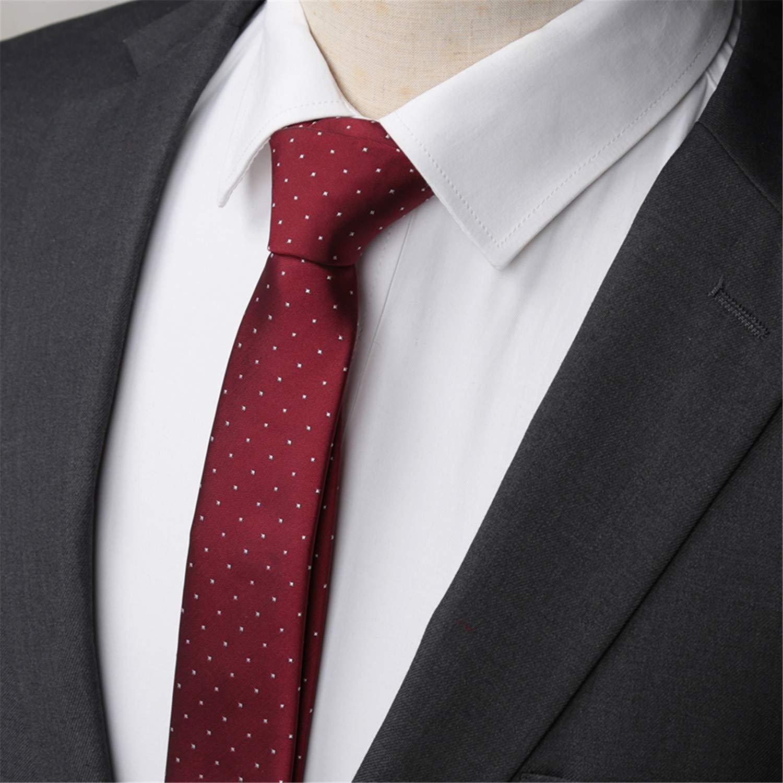Meaningg-Mnes Tie-Hombres Corbata Moda 5cm Corbatas delgadas ...