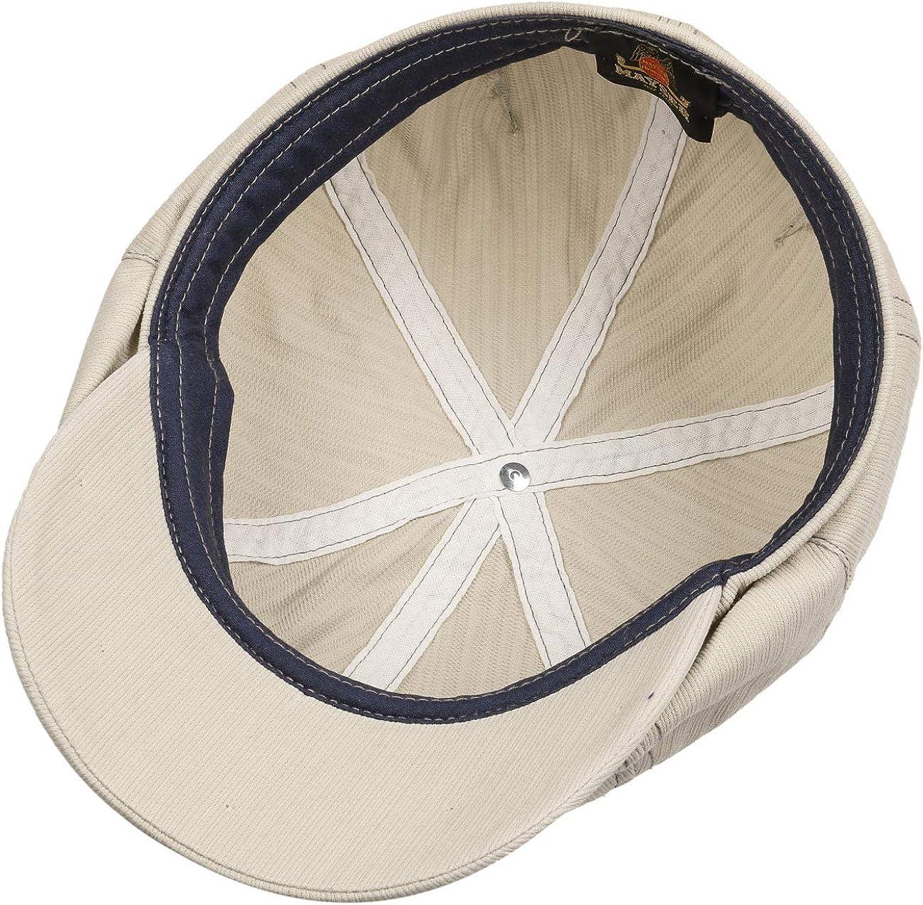 Mayser Talisso Flatcap Schirmm/ütze Sonnencap Baumwollcap Ballonm/ütze Mit Schirm