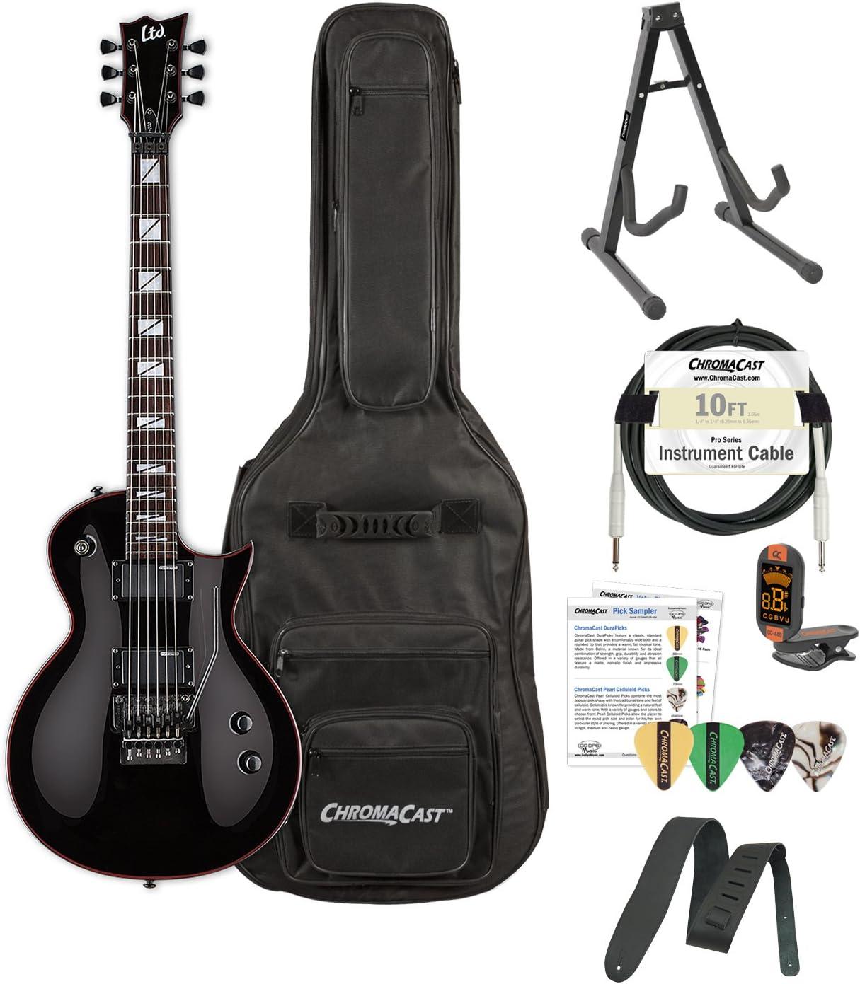 Esp lgh200blk-kit01 BLK Gary Holt Slayer Negro Guitarra eléctrica ...