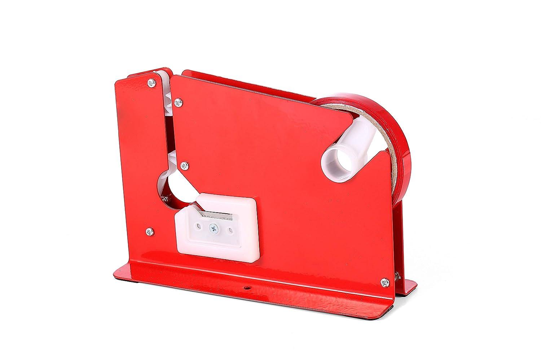 swift Red Metal Bag Neck Sealer With 6 Rolls Of Vinyl Tape