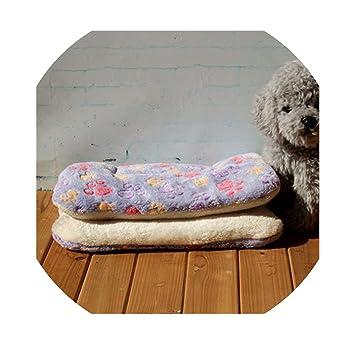 Amazon.com: Cama de invierno cálida para perro, suave forro ...