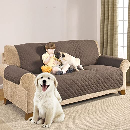 Waterproof Sofa Couch Cover Chair Throw Pet Dog Kids Mat Furniture Protector