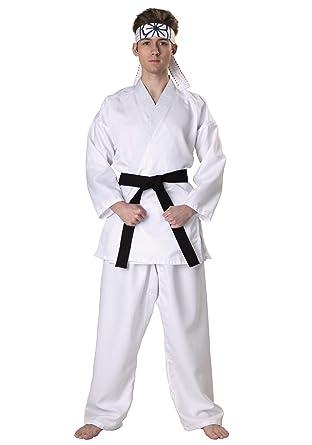 Karate Kid Daniel San Licensed Adult Mens Black Belt Costume X-Small  sc 1 st  Amazon.com & Amazon.com: Karate Kid Daniel San Licensed Adult Mens Black Belt ...