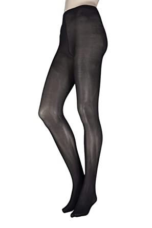 a611f6beae8a1 Ladies 1 Pair Elle 40 Denier Opaque Tights: Amazon.co.uk: Clothing