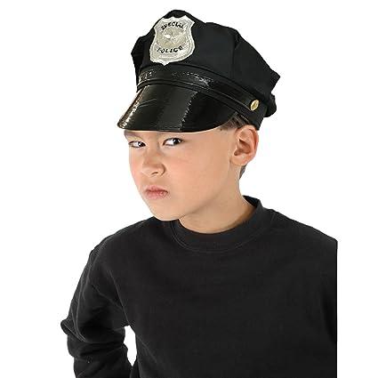 Sombrero o gorra policia infantil  Amazon.es  Juguetes y juegos 781e5522bee