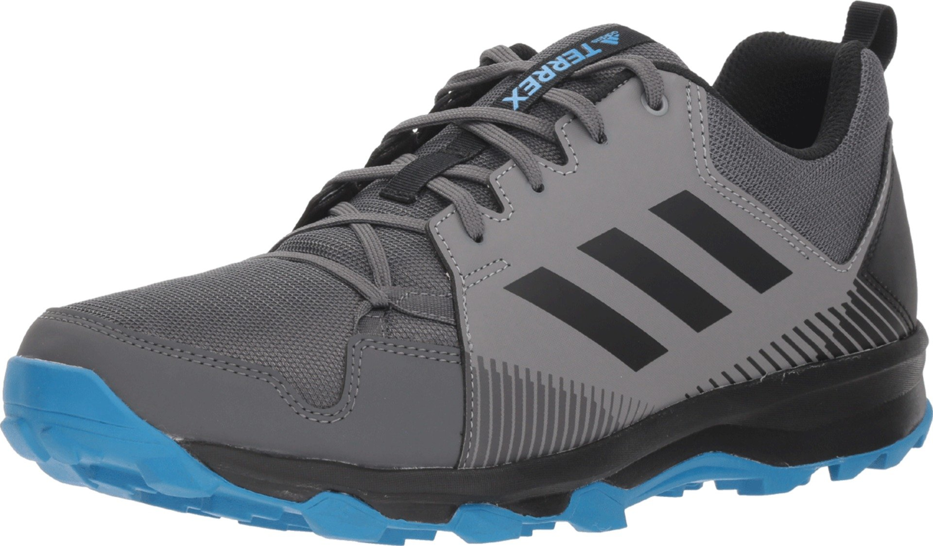 adidas outdoor  Men's Terrex Tracerocker Grey Five/Black/Bright Blue 10.5 D US by adidas outdoor