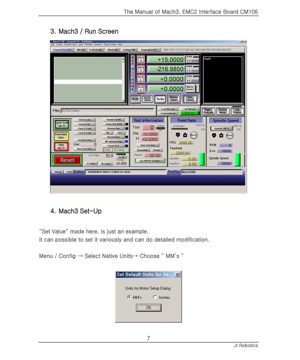 Mach3 Macro Examples