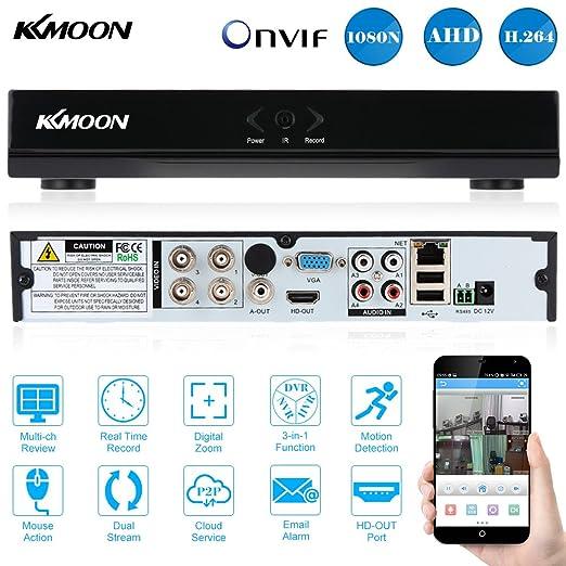 83 opinioni per KKmoon 4 canali 960H CCTV DVR