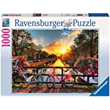 Ravensburger 19606 Bicycles in Amsterdam 1000 Piece Jigsaw Puzzle for Adults – Every Piece is Unique, Softclick…