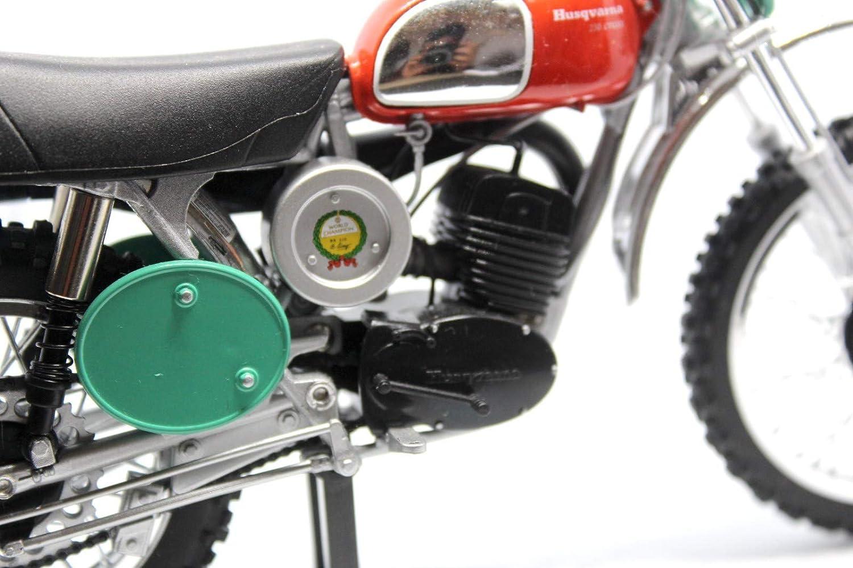 Sunimport Model Miniatur 1:12 Motocross Husqvarna Vintage 250 1970