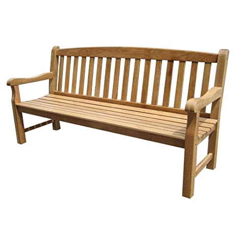 Tremendous Simply Wood Solid Oak Garden Bench 6Ft 4 Seater Sale Pabps2019 Chair Design Images Pabps2019Com