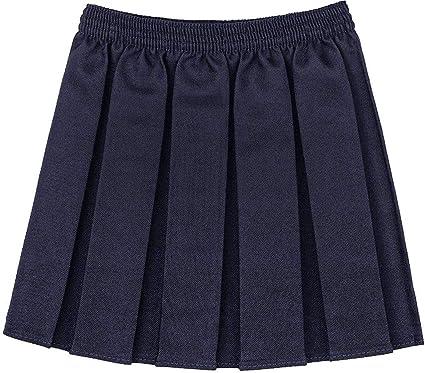 REAL LIFE FASHION LTD. Mini Falda Plisada para niñas, Uniforme ...