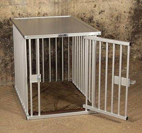 Callieway® Premium Aluminio Perros Jaula para Oficina y casa, Perros Box, Aluminio Transporte