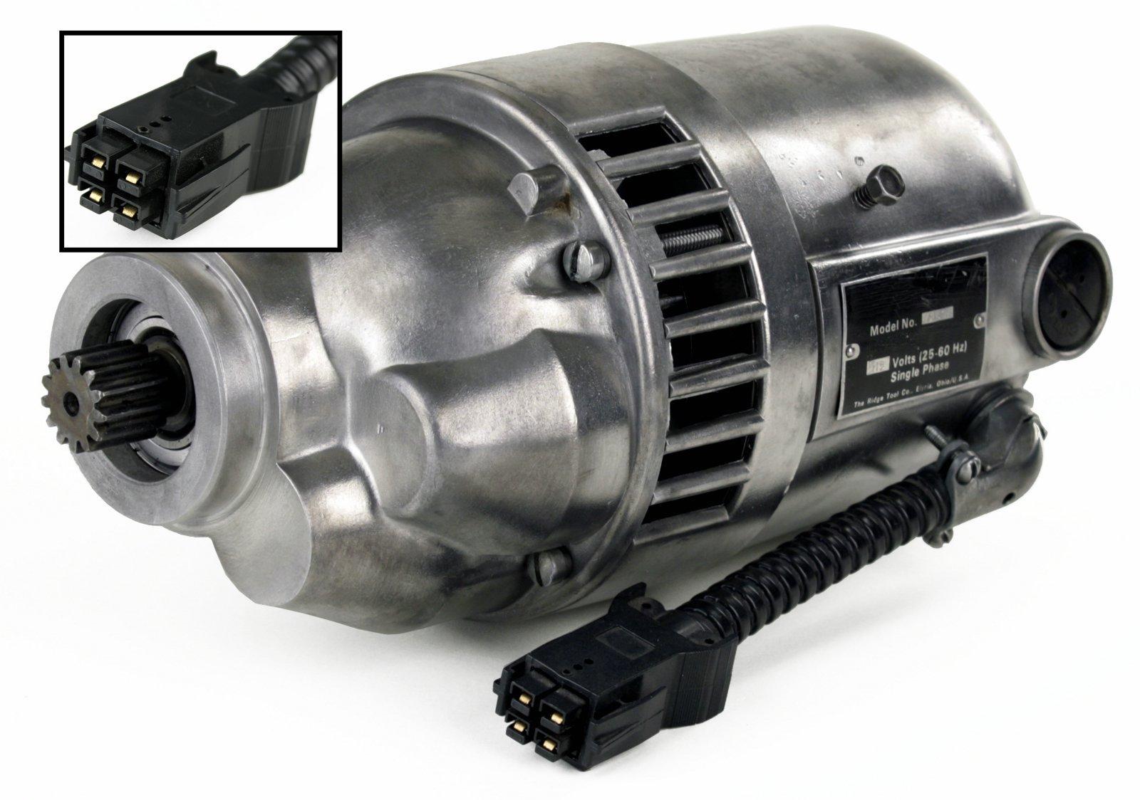 RIDGID 87740 Motor and Gear Box with Black Plug (Certified Refurbished)