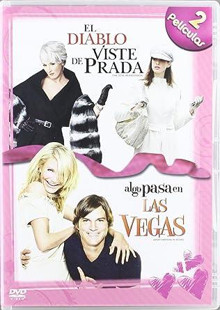 El Diablo Se Viste De Prada + Algo Pasa En Las Vegas [DVD]