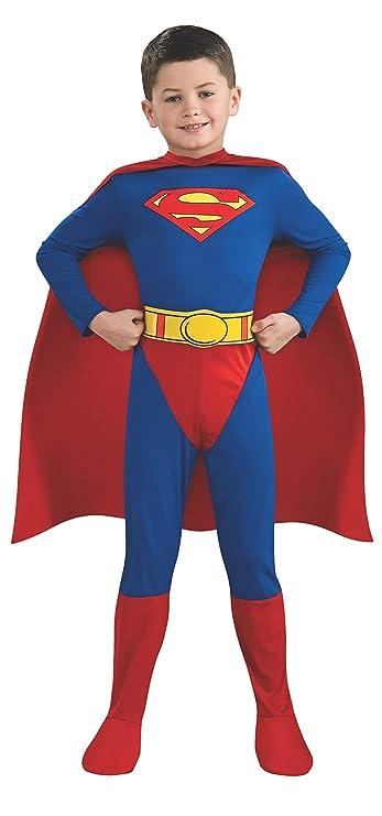Rubies Disfraz oficial de Superman para niños, diseño de cómic ...