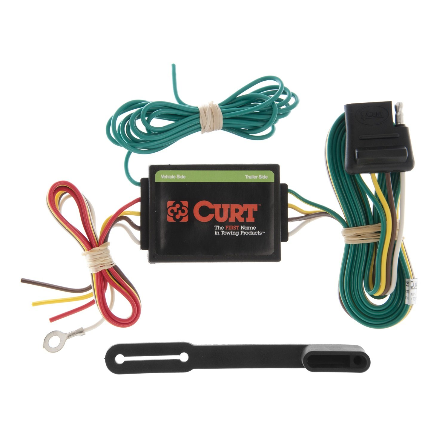Amazon.com: CURT 55130 Non-Powered 3-to-2-Wire Taillight Converter ...