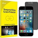 美国JETech 苹果6 iPhone6s防窥钢化膜 iPhone6/6s玻璃贴膜 防划保护膜 手机膜 保护隐私 低反射 抗冲击 防指纹 9H硬度 2.5D弧度圆边设计 带摄像口切口 适用于4.7英寸Apple iPhone 6/6s - 0800H