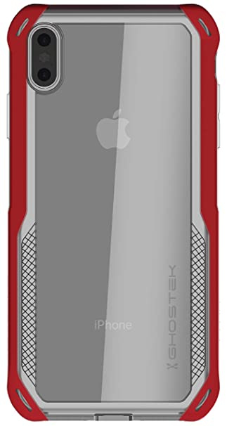 differently ce41b fcc24 Ghostek Cloak Slim Fit Shock Absorption Case Designed for Apple iPhone Xs  Max – Red