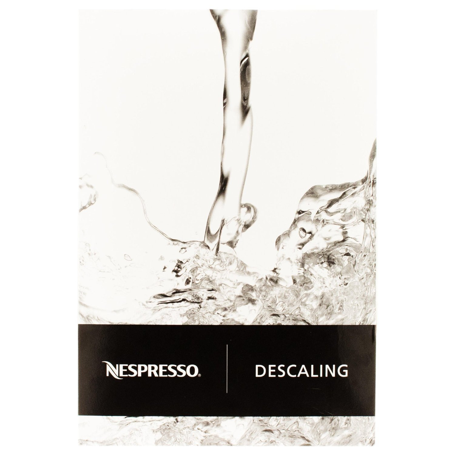 Nespresso Descaling Solution, Fits all Models kLnaBW, 8 Packets