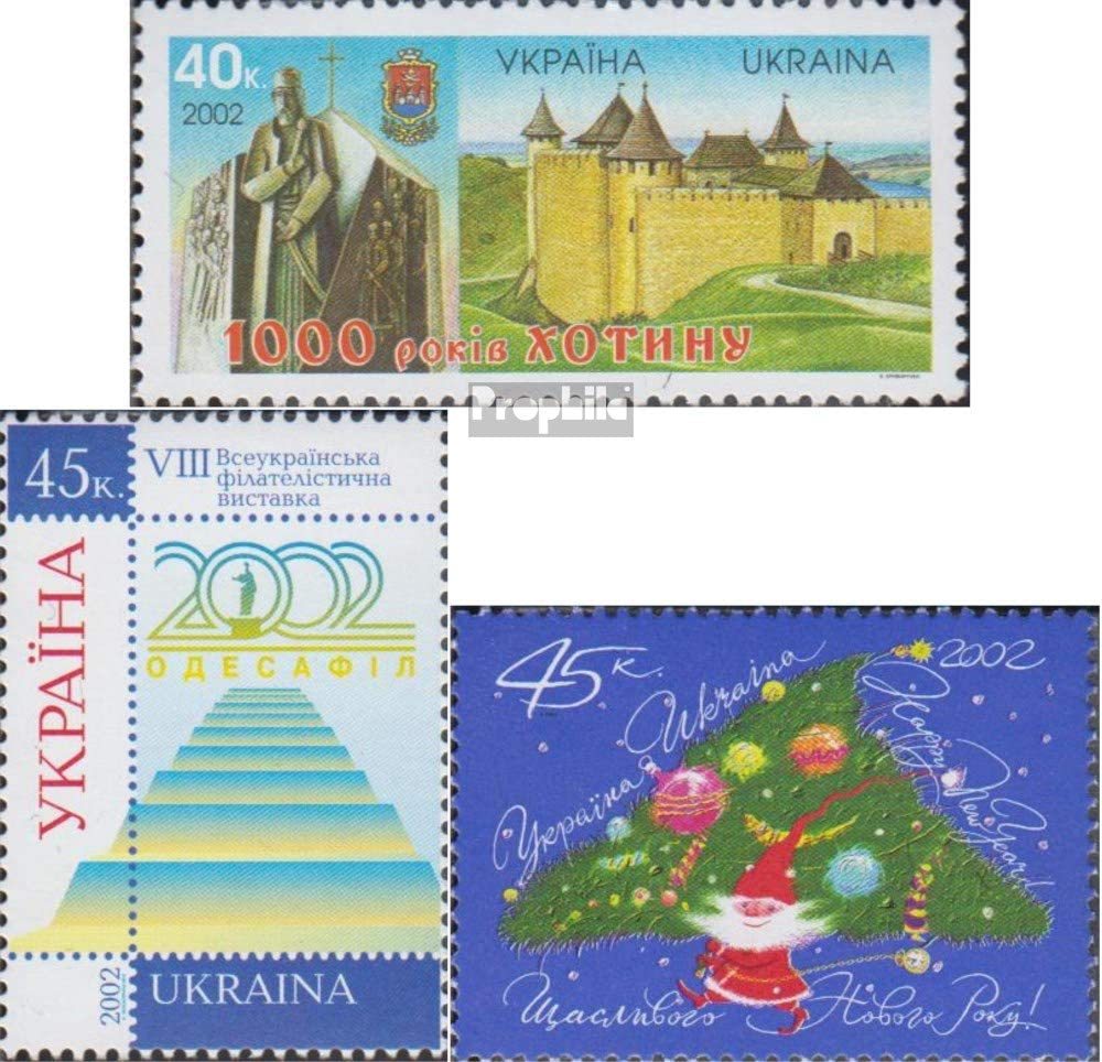 Prophila Collection Ucrania 534,535,541 (Completa.edición.) 2002 ...