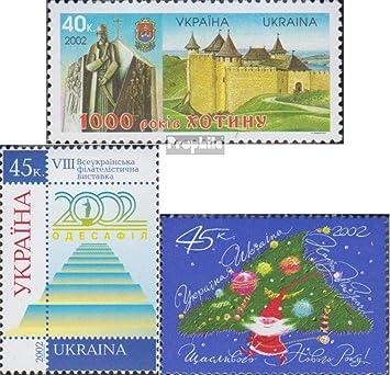 Prophila Collection Ucrania 534,535,541 (Completa.edición.) 2002 Ciudad Chotyn, Navidad, Filatelia (Sellos para los coleccionistas) Navidad: Amazon.es: Juguetes y juegos