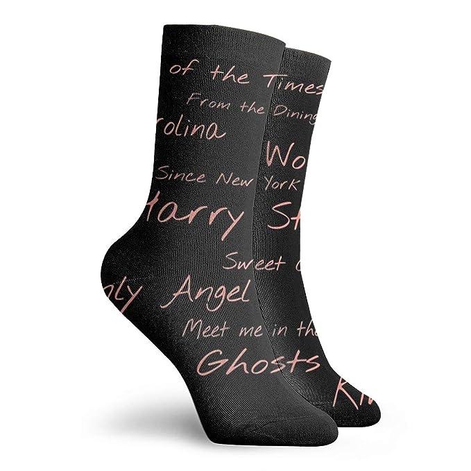 Men Women Dress Socks Harry Styles Boot Knee Long Hose For ...