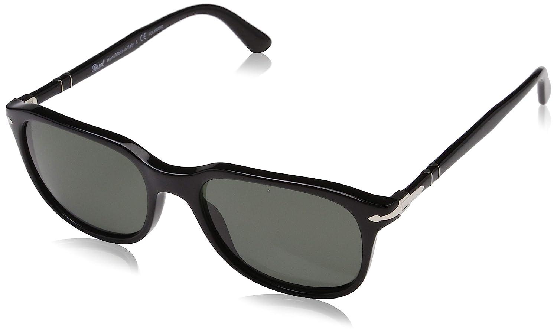 379d55e8ff4 Amazon.com  Persol Men s 0PO3191S Black Crystal Green Polarized One Size   Clothing
